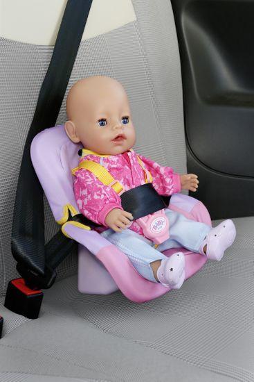 BABY born avtosedež, roza-vijoličen