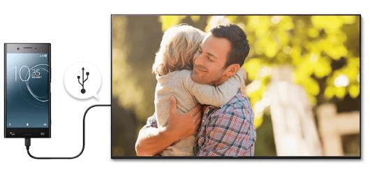sony 4K TV smart plug and play