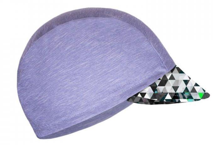 Unuo Chlapecká funkční čepice s kšiltem UV 50+ Metricon 53 - 58 šedá