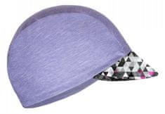 Unuo dekliška kapa s šiltom UV 50+ Metricon, 53 - 58, siva