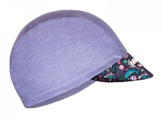 Unuo dekliška funkcijska kapa s šiltom UV 50+ Morski svet