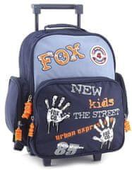 Cool šolski nahrbtnik trolley Fox Co. Odtisi rok