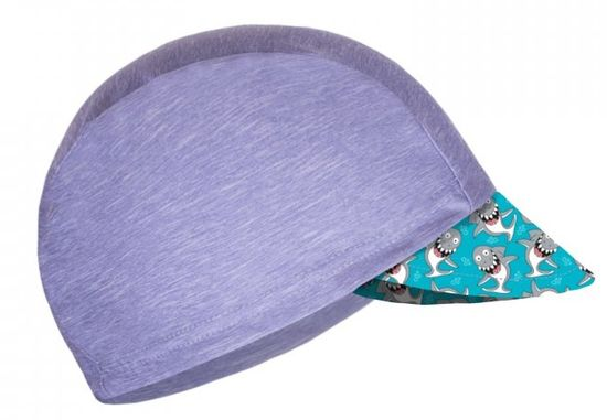 Unuo fantovska funkcijska kapa s šiltom UV 50+ Morski pes