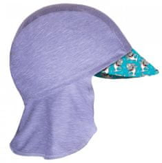 Unuo Chlapčenská funkčná čiapka s plachtičkou UV 50+ Žraloci, 42 - 44, sivá