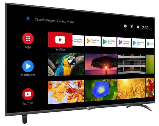 TESLA 40S605BFS Android LED televizor + 5 let garancije