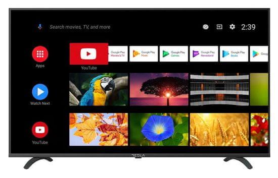 TESLA 43S605BFS Android LED televizor + 5 let garancije