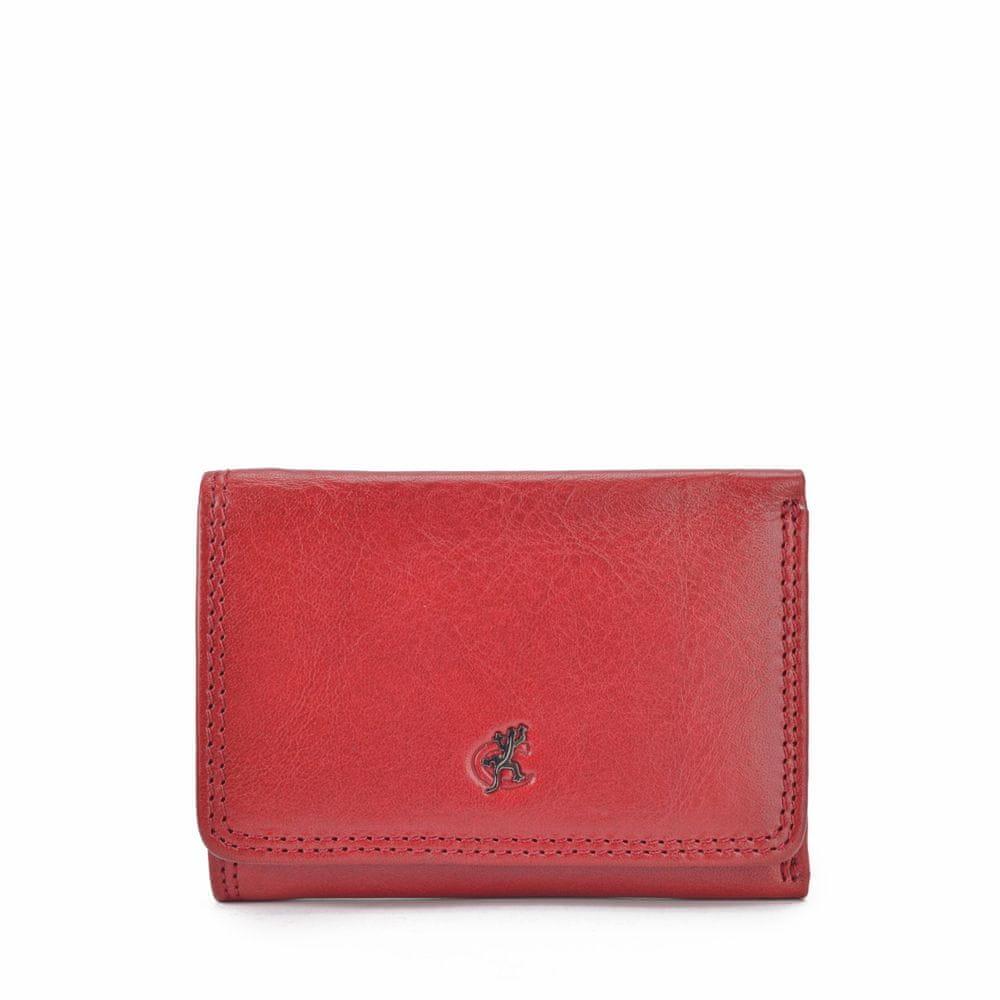 COSSET červená dámská peněženka 4509 KomodoCV