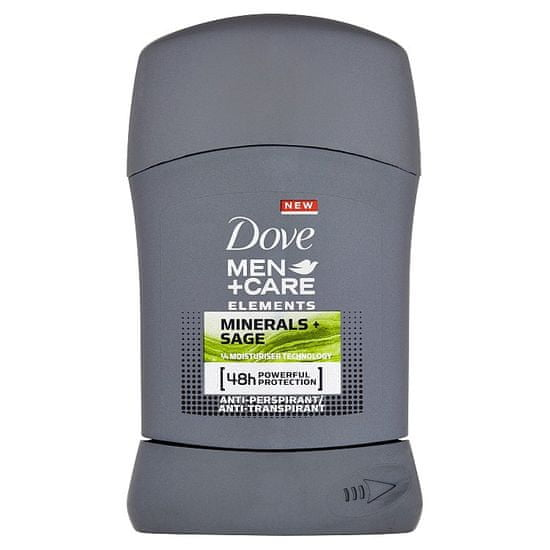 Dove Men+Care Elements tuhý antiperspirant pro muže 50 ml