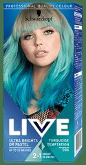Schwarzkopf Ultra Brights or Pastel barva na vlasy odstín Turquise Temptation 096