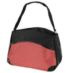 Zolux BOWLING kutyahordozó táska 33x44x24cm M piros