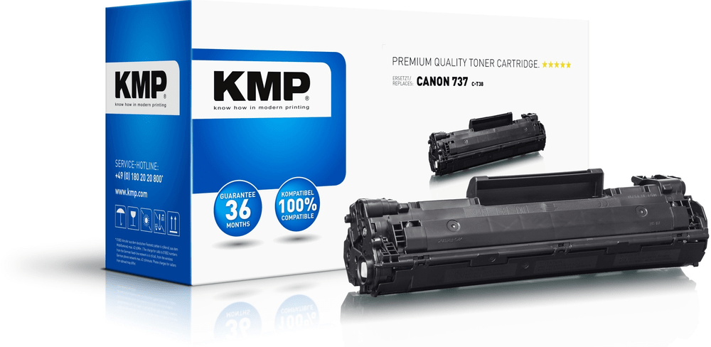 KMP 737 (Canon CRG-737) toner pro tiskárny Canon