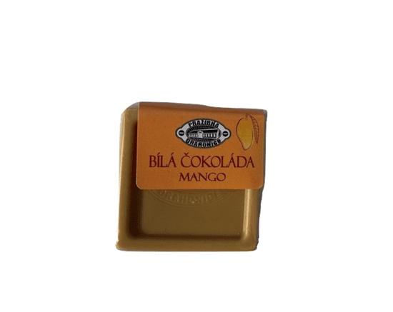 Pražírna Drahonice Bílá čokoláda MANGO