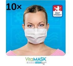 Védő arcmaszk aktív ezüst tartalommal 10 db