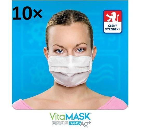 maska ochronna z zawartością aktywnego srebra 10 szt