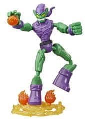 Avengers Bend and Flex Green Goblin figurica