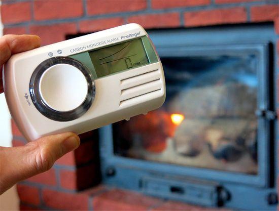 FireAngel CO-9D-INT Detektor CO, multifunkční LCD