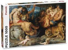 Piatnik puzzle Rubens Cztery kontynenty 1000 elementów