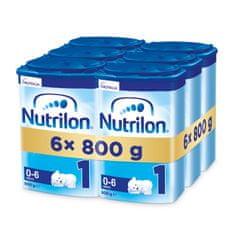 Nutrilon 1 počáteční kojenecké mléko 6x 800g, 0+