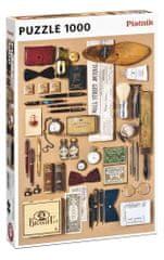Piatnik puzzle Męski świat 1000 elementów