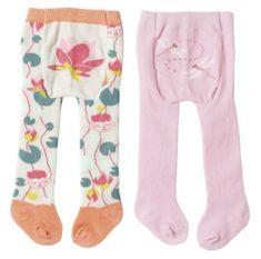 Baby Annabell rajstopy dla lalki 43 cm różowe