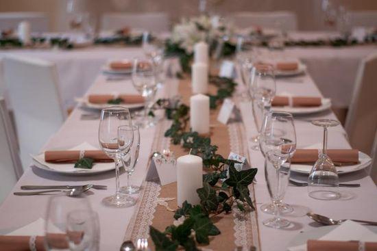 Paris Dekorace Svatební jmenovky na stůl, květinové