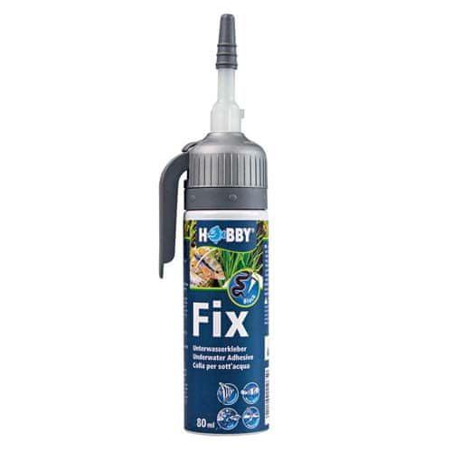 HOBBY aquaristic HOBBY Fix - Underwater Adhesive 80 ml lepidlo na lepení i pod vodou, black černé