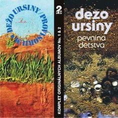 Dežo Ursiny: Provisorium & Pevnina detstva (2x CD) - CD