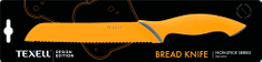Texell TNT-H110 nož za kruh, 20,4 cm