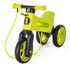 Teddies Odrážedlo FUNNY WHEELS Rider SuperSport zelené 2v1