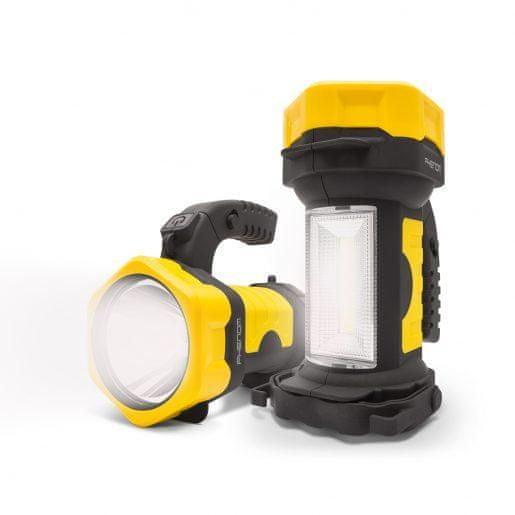 PHENOM 2v1 COB LED delovna svetilka na baterije