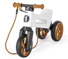 Teddies trikolesnik Funny Wheels Super Sport 2v1, bel