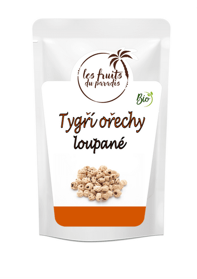 Fruits du Paradis Tygří ořechy loupané BIO 1kg, NE