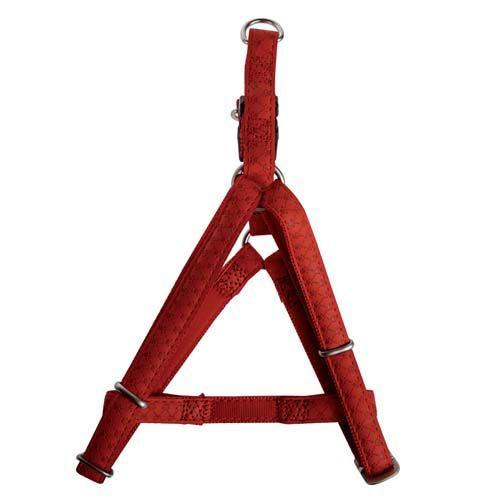 Zolux MAX LEATHER Hám bőrből piros 60x98cm/25mm