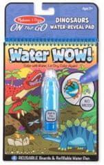 Kouzelné malování vodou Dino omalovánky