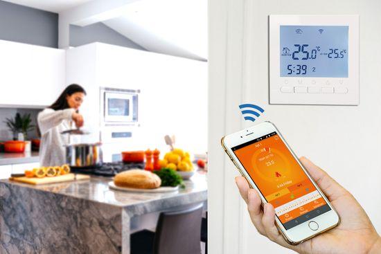 Aluzan E-16 WiFi, termostat pre elektrické vykurovanie