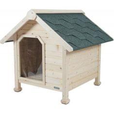 Zolux CHALET Dřevěná bouda pro psy 74x88x84cm Extra Large
