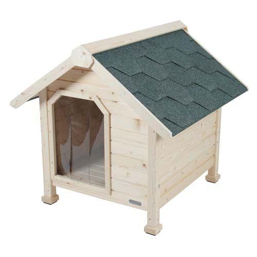 Zolux CHALET Dřevěná bouda pro psy 58x66x64cm Medium