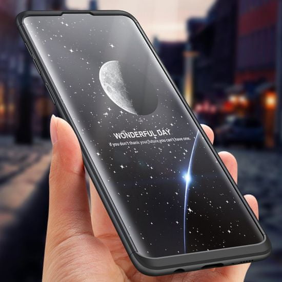 GKK 360 Full Body műanyag tok Samsung Galaxy S10, fekete