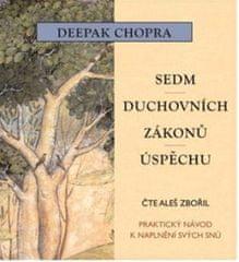 Chopra Deepak: Sedm duchovních zákonů úspěchu - MP3-CD