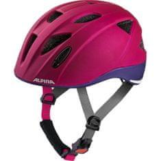 Alpina Sports Ximo LE otroška kolesarska čelada, vijolična, 47-51