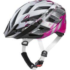 Alpina Sports Panoma 2.0 kolesarska čelada, belo-vijolična, 52-57