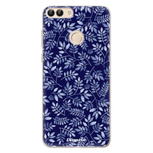iSaprio Silikonové pouzdro - Blue Leaves 05 pro Huawei P Smart