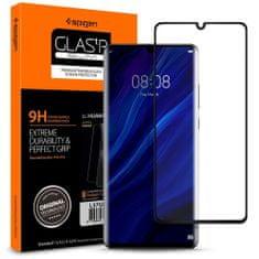 Spigen Glas.Tr zaščitno steklo za Huawei P30 Pro, črna