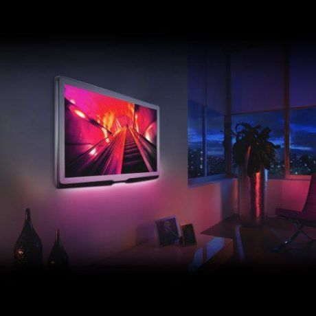 Avide USB RGB LED trak za TV s kontrolerjem 2m