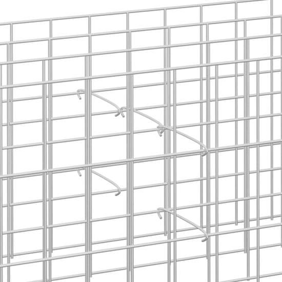 shumee Stężenia do gabionów, 50 szt., galwanizowana stal, 20 cm