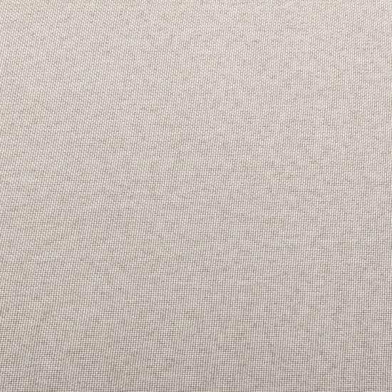 shumee Podnóżek do mebli modułowych, z poduszką, tkanina, kremowy