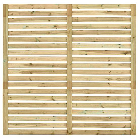 shumee impregnált fenyőfa kerti kerítéspanel 180 x 180 cm