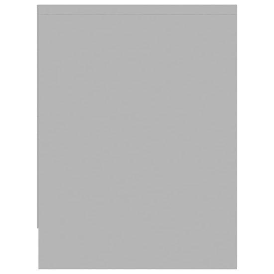 shumee Szafki nocne, 2 szt., szare, 40 x 30 x 40 cm, płyta wiórowa