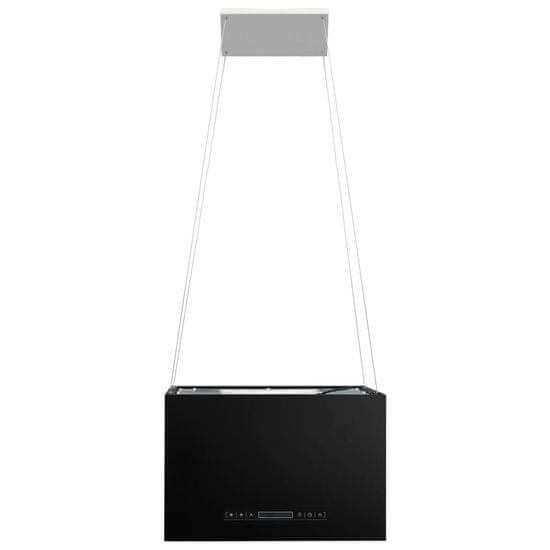 shumee Viseča kuhinjska napa s senzorjem na dotik LCD 55 cm jeklo
