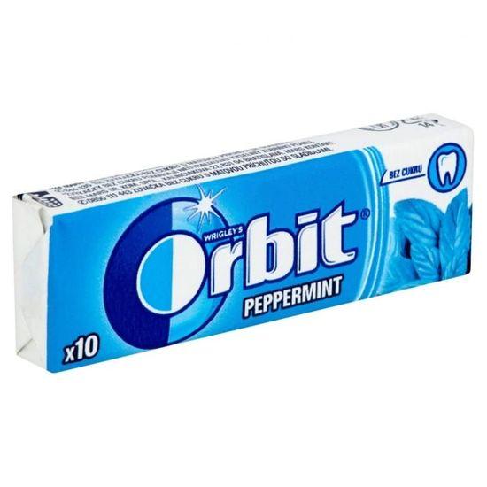 Orbit Žvýkačky dražé Peppermint 30x14g